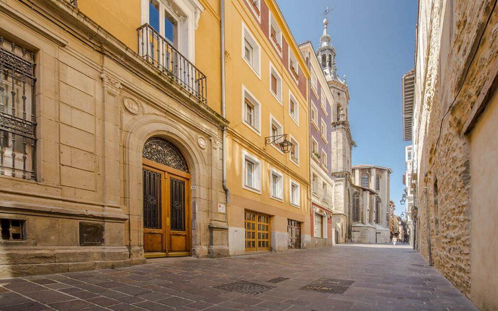 Calle Herrería de Vitoria-Gasteiz
