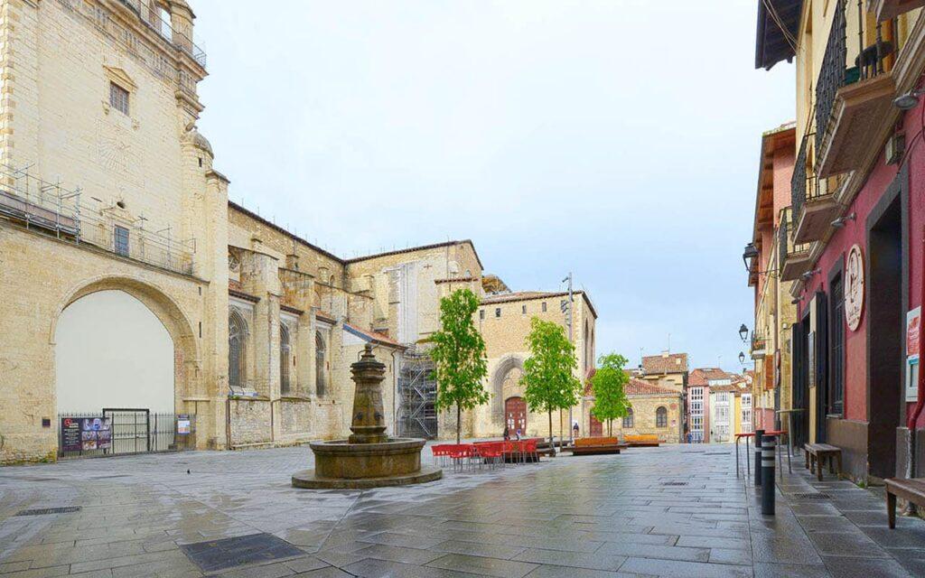 Plaza Santa María de Vitoria-Gasteiz