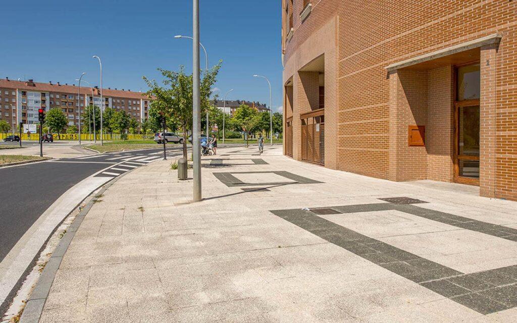 Urbanización Lakua 12 de Vitoria-Gasteiz